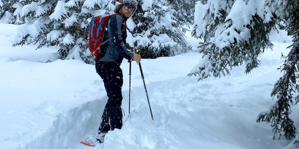 Fortini - Montagnoli - snowshoeing itinerary