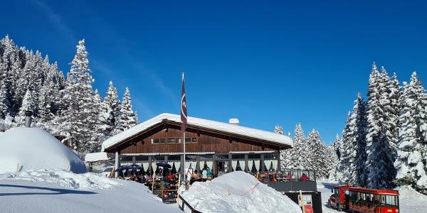 Bergbaiz Brambrüesch im Winter