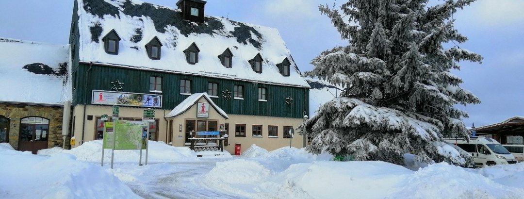 Tourist-Information Altenberg im Winter