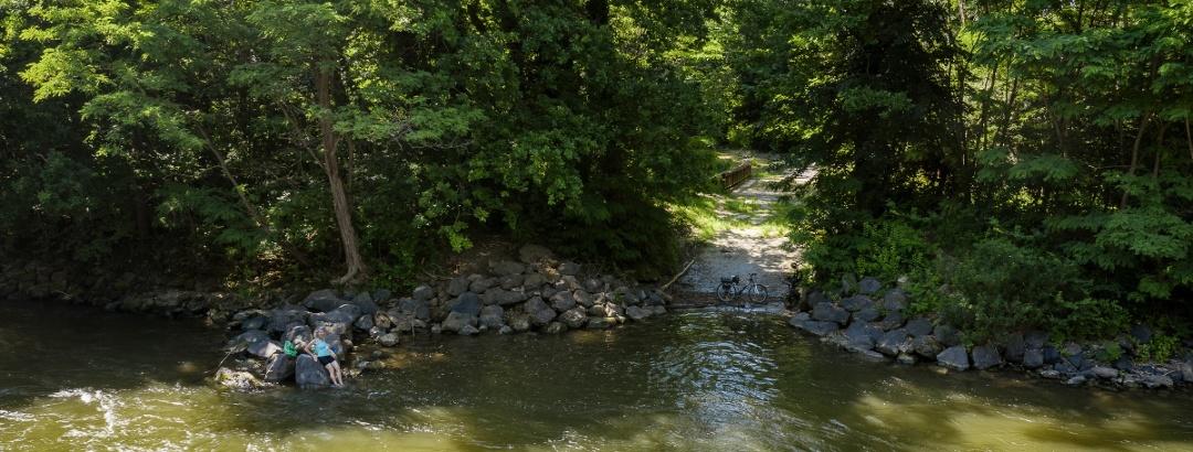 Rast an der Mur im UNESCO Biosphärenpark