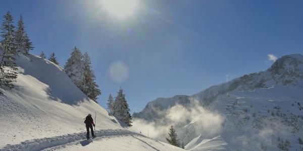 Schneeschuhtour auf dem Niederbauen