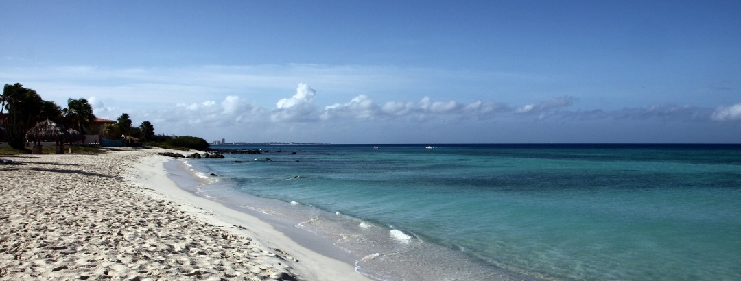 Strand in Aruba