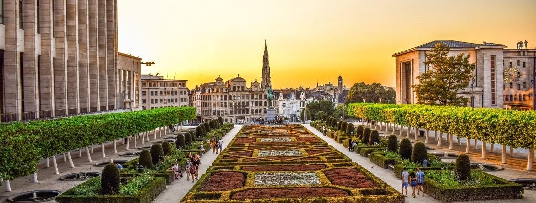 Mont des Arts in Brüssel