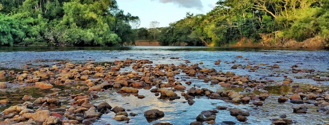 Fluss in Belize