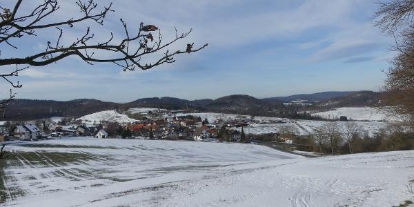 Blick auf Hundsdorf