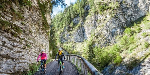 Radfahren Unkenbachtal