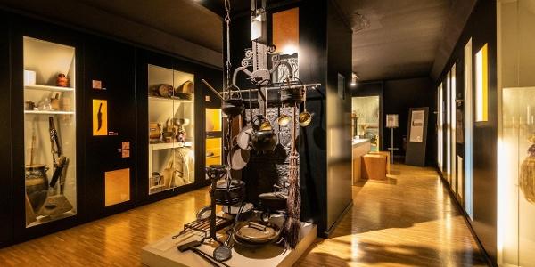 Ausstellungsraum im Eifelmuseum
