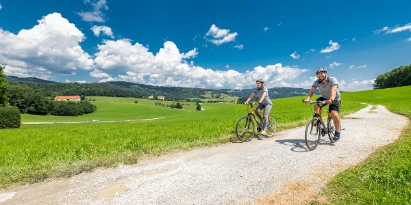 Piberer Hügellandschaft_Radfahren