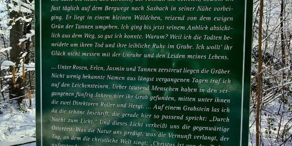 Hansjakob-Weg Geschichte