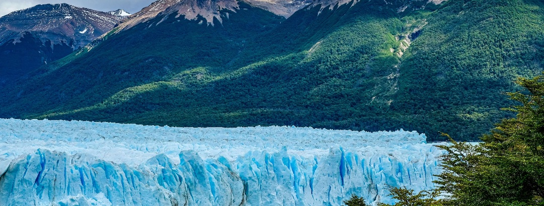 Cordón Federico Reichert junto al Glaciar Perito Moreno
