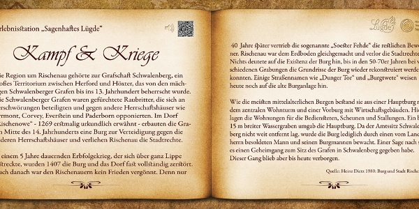 "Bankrücken ""Kampf & Kriege"""