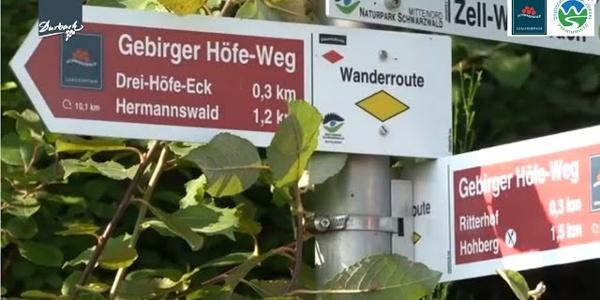 """Premiumwanderweg und Schwarzwälder Genießerpfad """"Gebirger Höfe-Weg"""""""