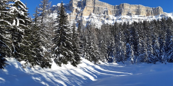 Lech Dlá Lé in inverno