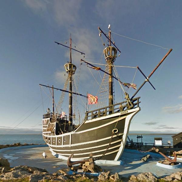 Replica of Nao Victoria (Magellan's Ship) Puerto San Julián