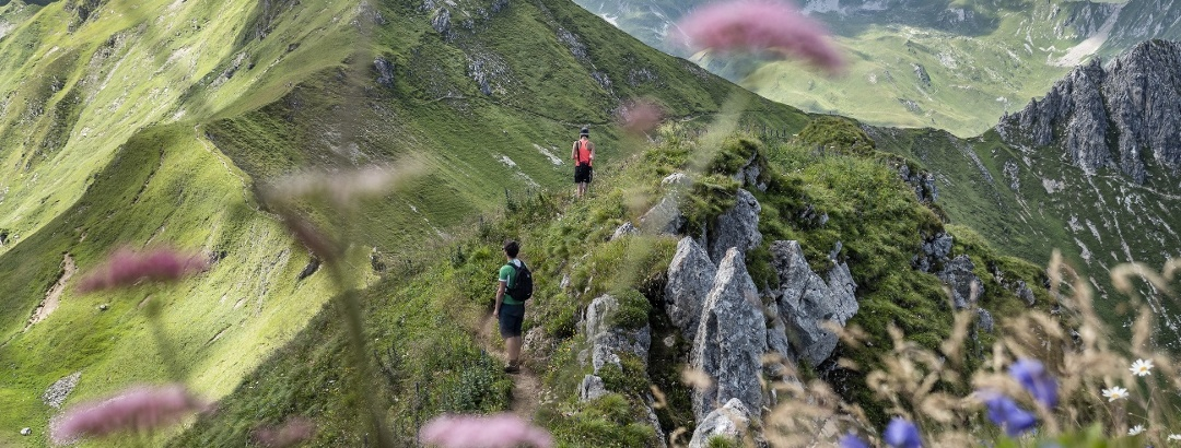 Wanderung in Vorarlberg