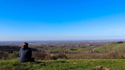 Pause mit Panorama