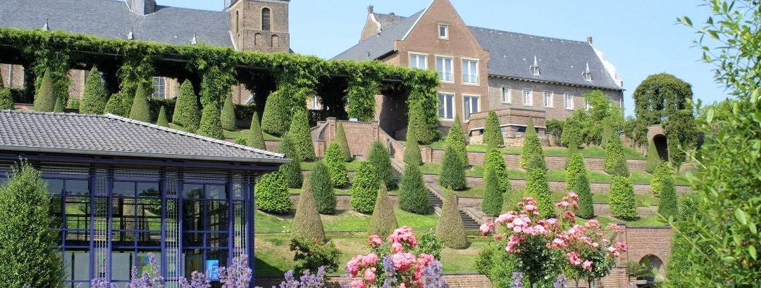Blick auf Kloster Kamp