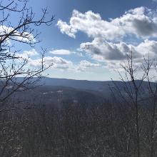 View from Ágasvár