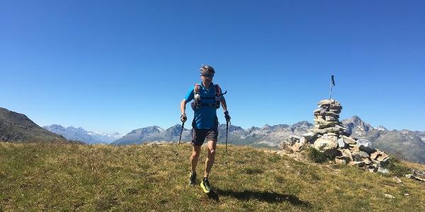 Trailrunner im Engadin