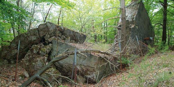 alte Bunkeranlage (gesprengt)