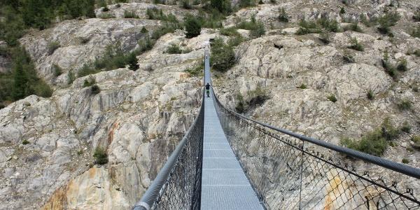 Hängebrücke Belalp - Riederalp