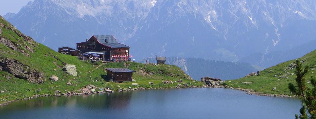 Wildseeloderhaus in den Kitzbüheler Alpen