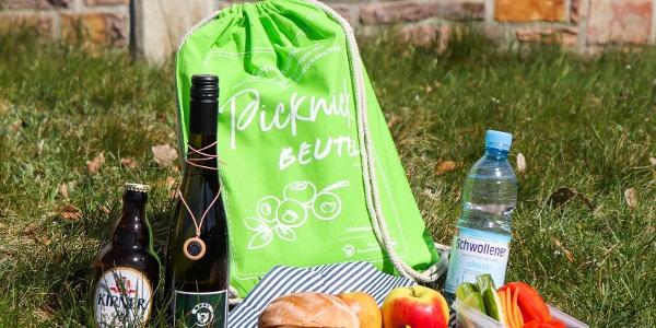 """Beispielfoto Frühlings- / Sommerpicknick der Nationalparkregion Hunsrück-Hochwald - optional auch mit dem """"Wildkatz"""" Wein erhältlich"""