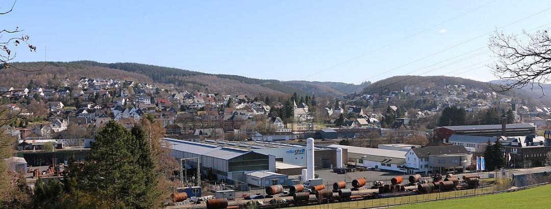 Weisstal: Kaan-Marienborn Neue Wohn- und Alte Industriegebiete