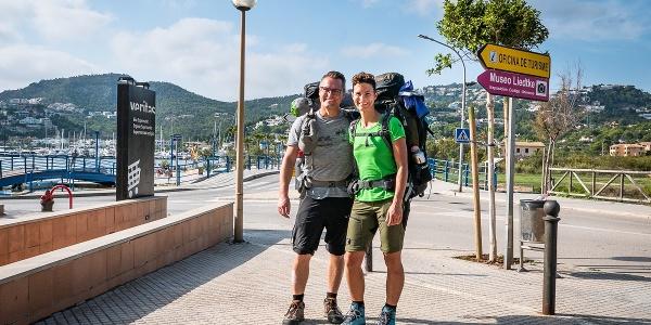 Start der Tour ist in Port d'Andratx. Hierher kommt man vom Flughafen in Palma ganz entspannt mit dem Bus.