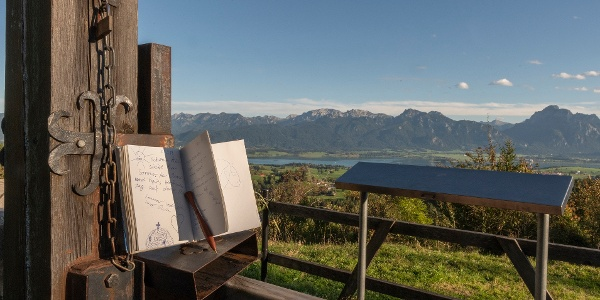 Gipfelbuch auf dem Zwieselberg