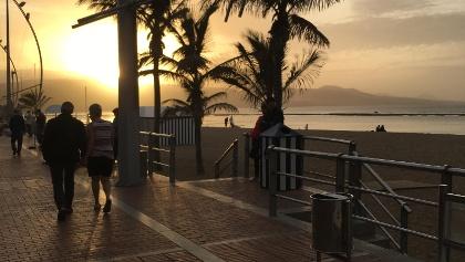 Gran Canaria Sightseeing Tour - Sonnenaufgang Las Palmas