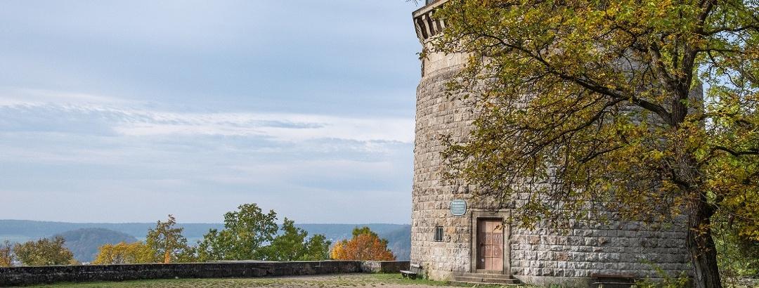 Bismarckturm mit Aussichtsplateau | Bad Kissingen