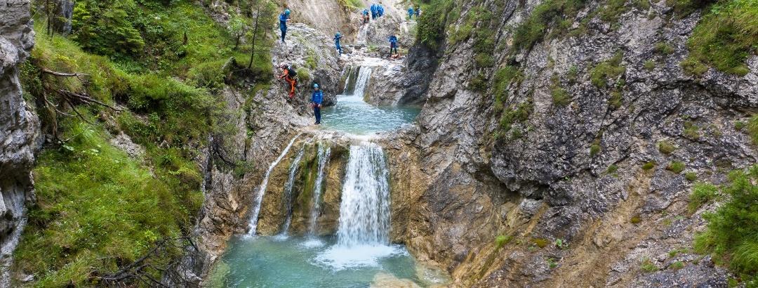 Stuibenfälle, Familien Canyoning-Tour - RSC Canyoning Tours