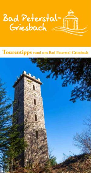 Tourentipps Bad Peterstal-Griesbach