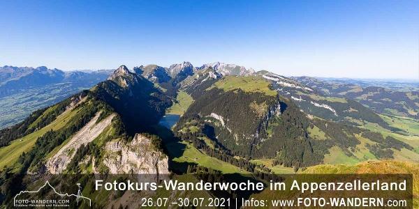 Fotokurs-Wanderwoche ins Appenzellerland