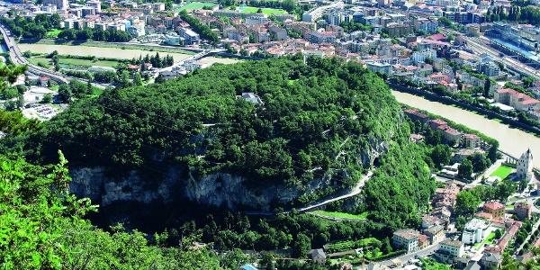 Panoramica sul Doss Trento