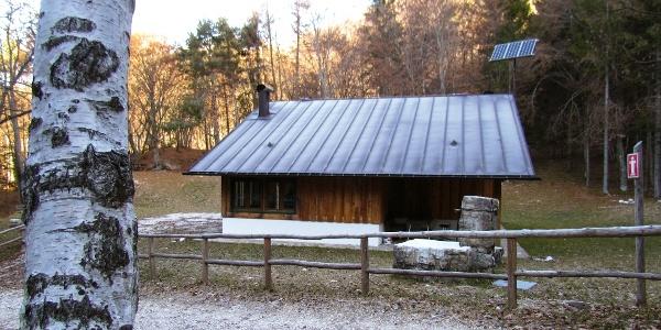 Die Baita di Fontana dei Gai wurde in der ersten Nachkriegszeit von der Forstwirtschaft erbaut.
