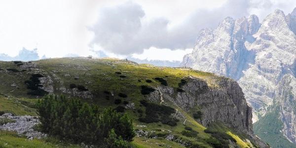 Das Plateau des Monte Piano