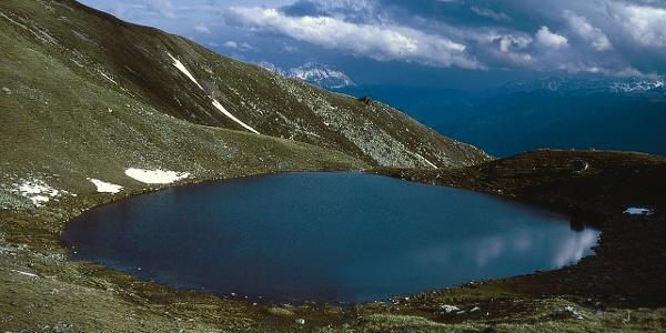Der malerische Grünbachsee (2258 m).