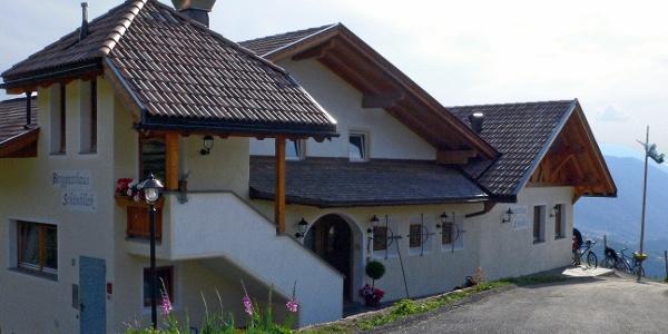 Das Berggasthaus Schönblick auf 1193 m.ü.M