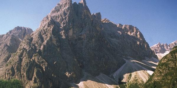 """Via the """"Talschlusshütte"""" in the valley Fischleintal"""