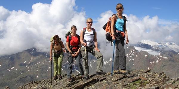 Höhentour für professionelle Bergsteiger