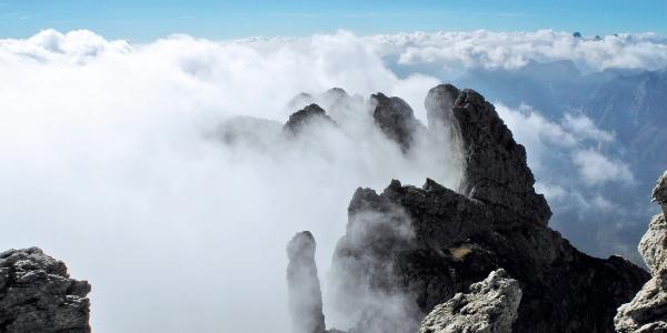 Klettersteig zum Bivacco Bernardina