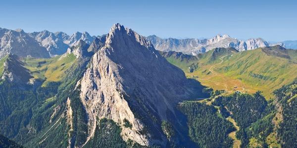 Gipfel des Colàc