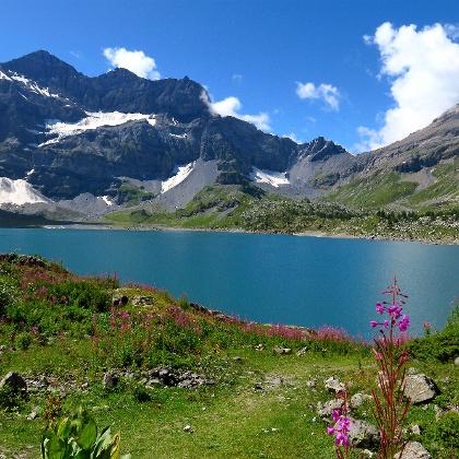Lac de Salanfe.