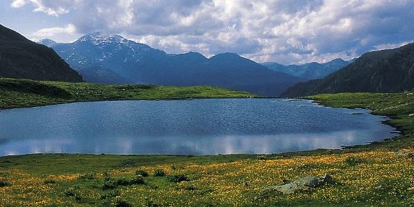 Der Seefeldsee in Ulten auf 2168 m.ü.M.