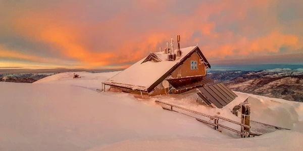 Rifugio Altissimo: i colori dell'inverno