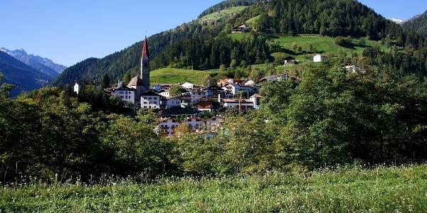Von St. Pankraz durch das Kirchbergtal hinauf bis zur Stafler Alm.
