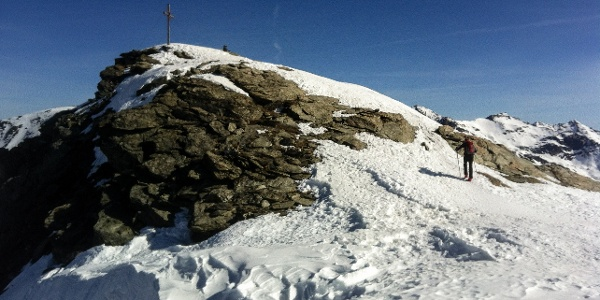 Großartige und einfache Frühjahrstour auf die Madritschspitz vom Martelltal.