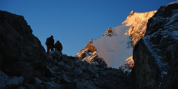 The Ortler mountain is the highest peak in the Alto Adige.
